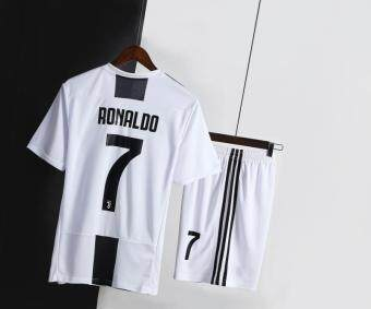 09ee3374313 Hot Deal (3-18years) 2019 New Season Juventus Ronaldo No.7 Home and Away  Football Jersey Top Quality Kit soccer Shirt free shorts High Quality Home  Stadium ...