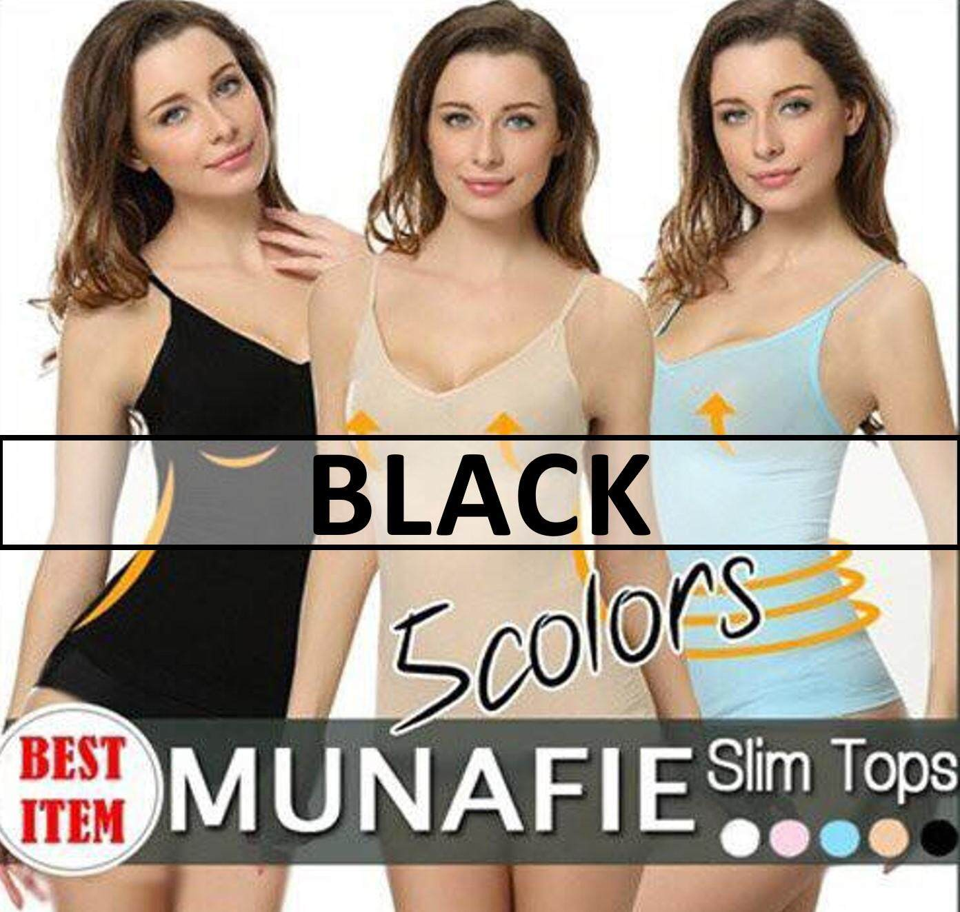 labelle-NEW MUNAFIE Premium Fat Burning Shapewear Slimming Singlet Top Vest  (5 Color Available 79b40ce4a9