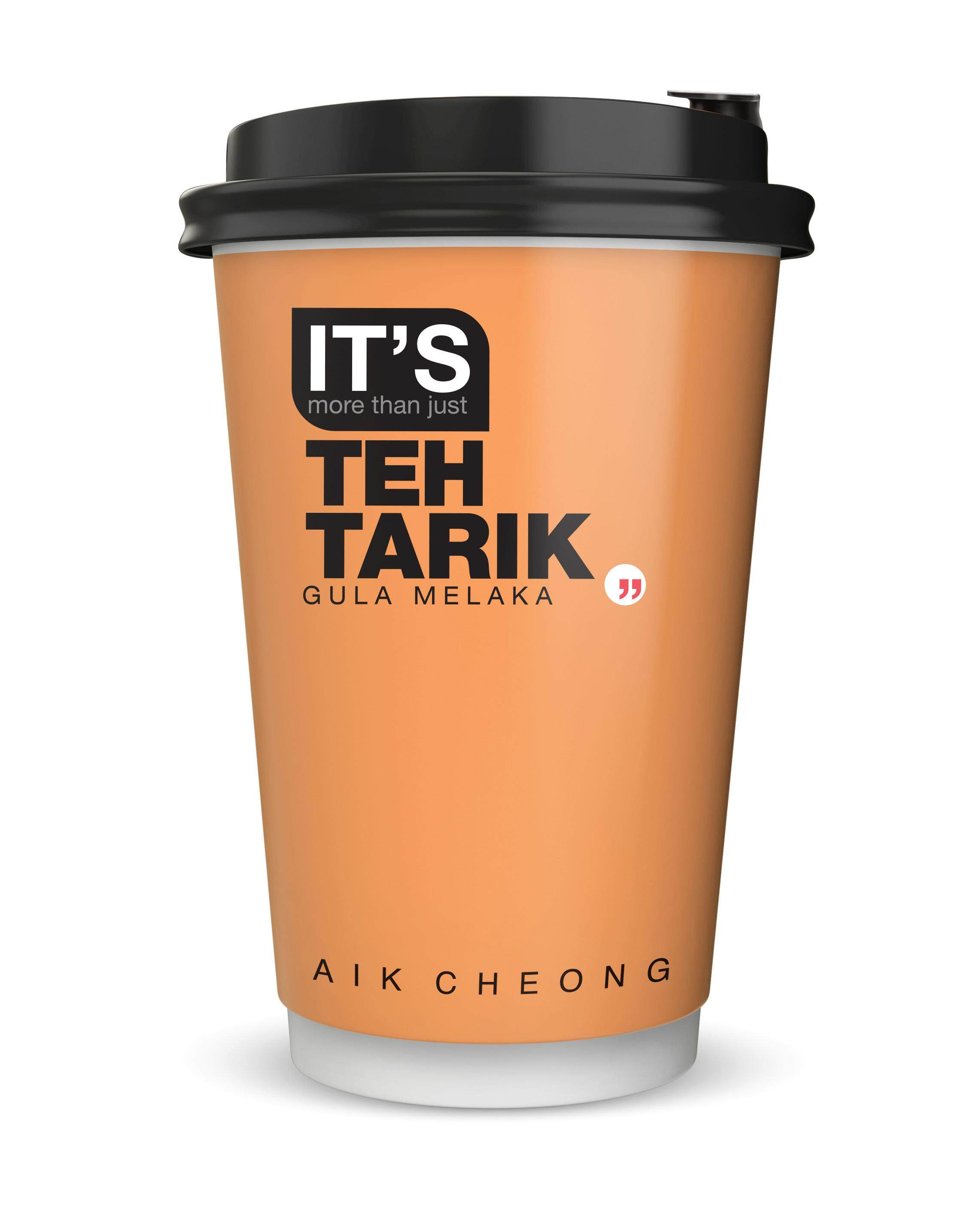 [NOT FOR SALE] AIK CHEONG IT'S Cup 72g - Teh Tarik