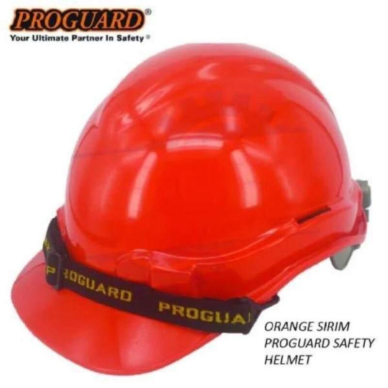 PROGUARD SIRIM ORANGE SAFETY HELMET ( HG1-PHSL )