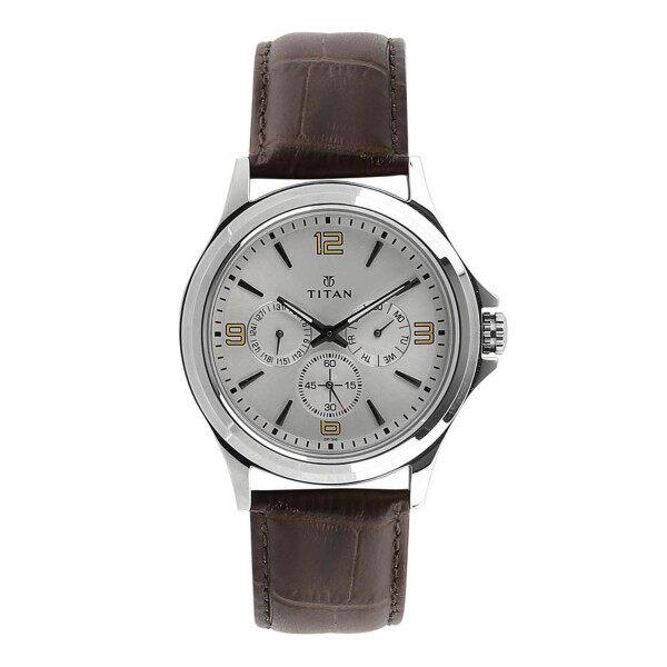 Titan Analog Silver Dial Watch for  Men 698SL01 Malaysia