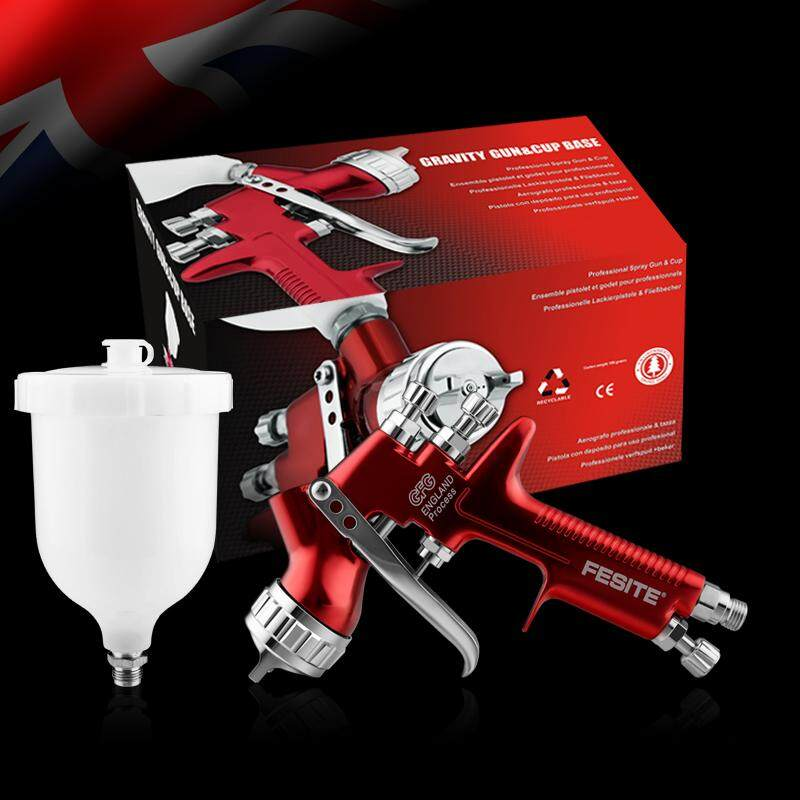 1.3MM professional spray tool red HVLP car paint tool professional automotive finish spray tool