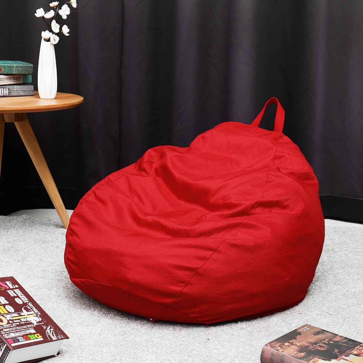 Bảng giá Lớn Nhỏ Lười Beanbag House Sofa Bao Ghế Mà Không Chất Độn Lửng Ghế Đậu Túi Pouf Phồng Ghế Dài Tất Nam Phòng Khách