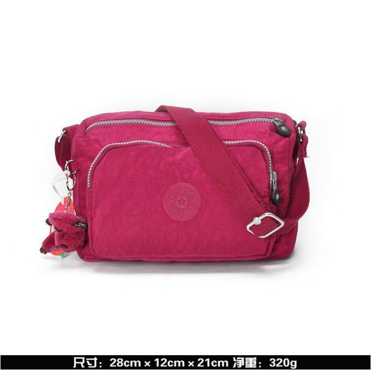Kiplings Canvas Shoulder Bag Women's Crossbody Bag Travelling Bag