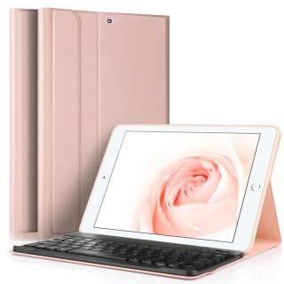 TVCC Bao Da Đứng Bàn Phím Bluetooth Có Thể Tháo Rời, Dành Cho iPad 9.7 Inch (2017) thumbnail