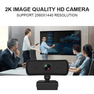 Milageto Webcam HD 1440P Kỹ Thuật Số Camera Cam 4K USB 2.0 Video thumbnail