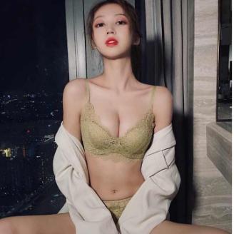 ˉTriumph Ren Đồ Lót Gợi Cảm, Bộ Áo Ngực Quây Ngực Nhỏ Không Gọng Thép Cho Nữ Loại Điều Chỉnh