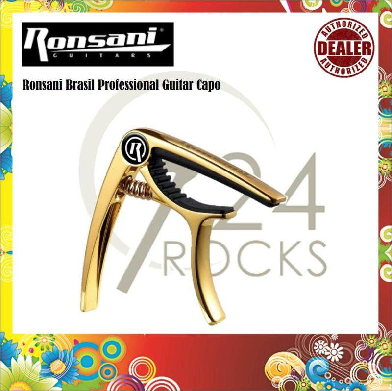 Ronsani Brasil Professional Guitar Capo For 6 Strings Guitars Malaysia