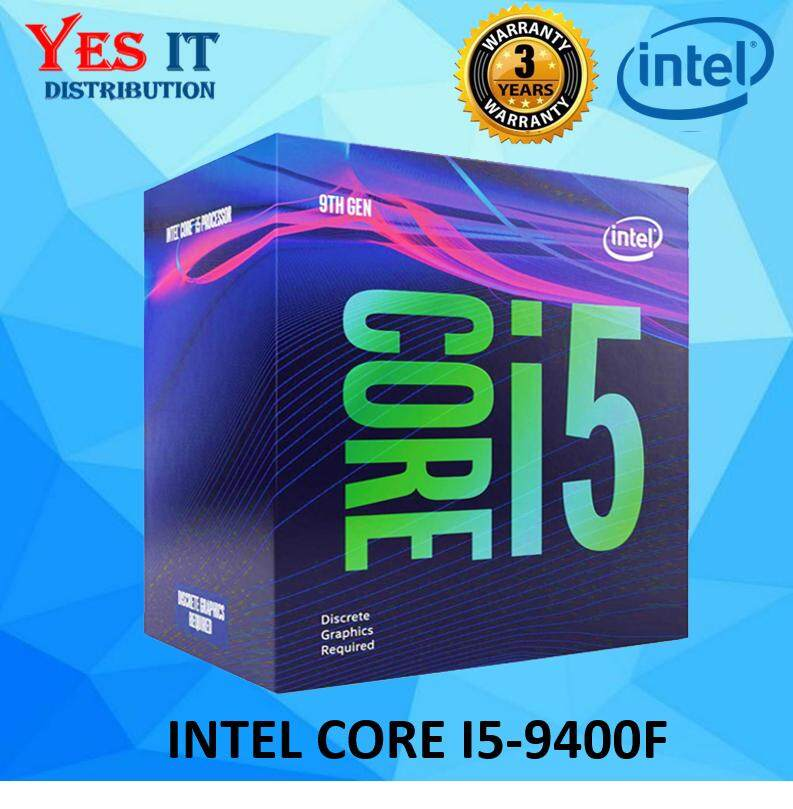 Intel Core I5 9400f Lga1151 Proccesor (6 Cores, Up To 4.10 Ghz) By Yes It Distribution.