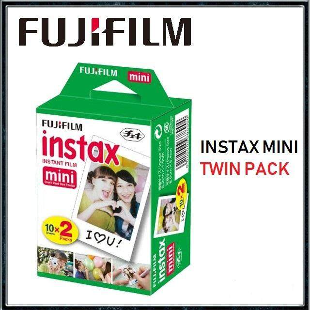 Fujifilm Instax Mini Instant Film Twin Pack (20sheets/ 40sheets/ 60sheets/ 80sheets/ 100sheets) By Digital Solutions.