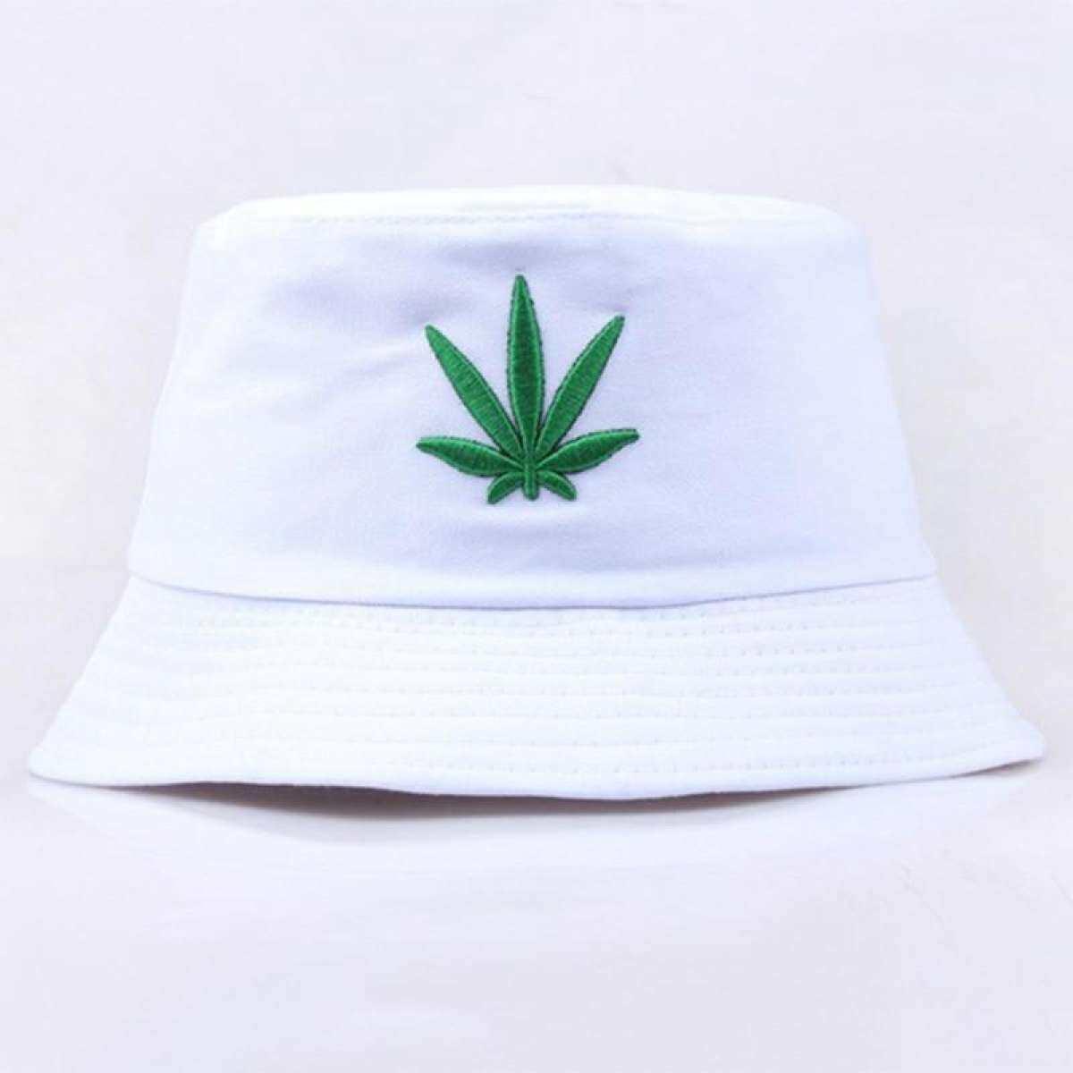Men Women Maple Leaf Bucket Hat Hip Hop Fisherman Panama Hats Embroidery Cotton Outdoor Summer Casual Swag Bucket Cap Lazada