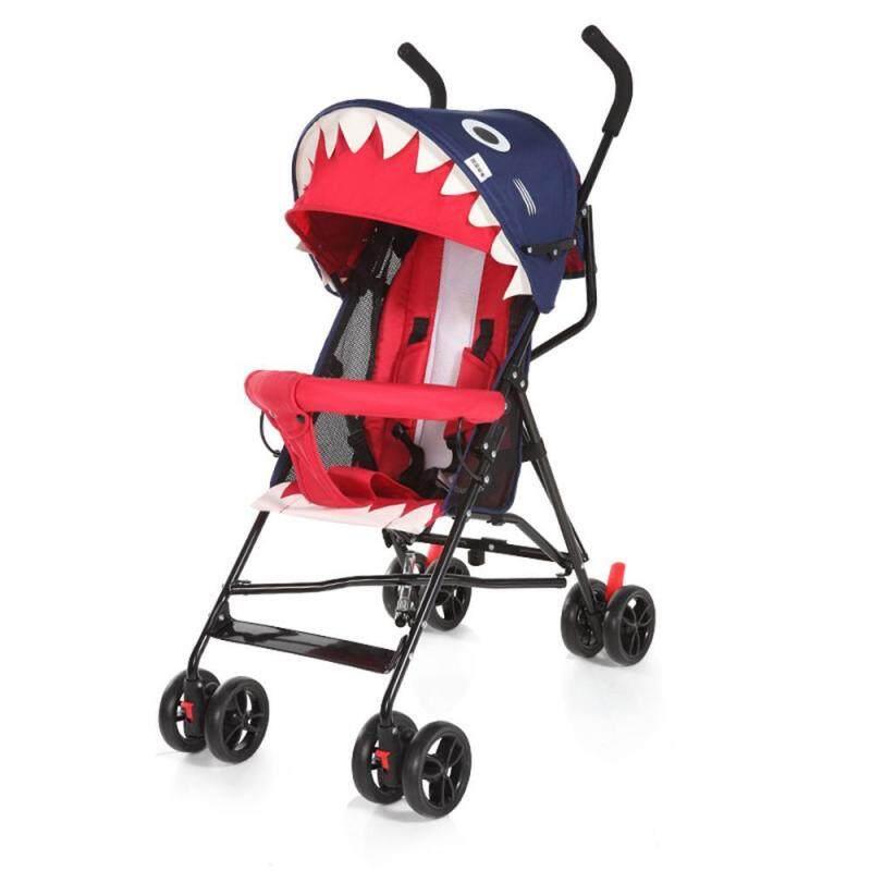 Teepao [Baby Stroller]Summer Ultra Light Portable Can Sit Semi-lying Umbrella Folding Simple Baby Car Singapore