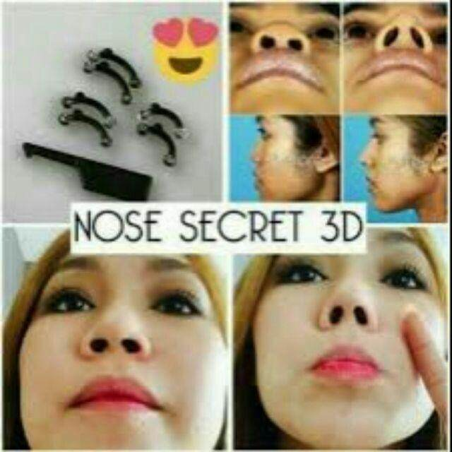 Korean 3D Nose Up/Silikon Pemancung Hidung