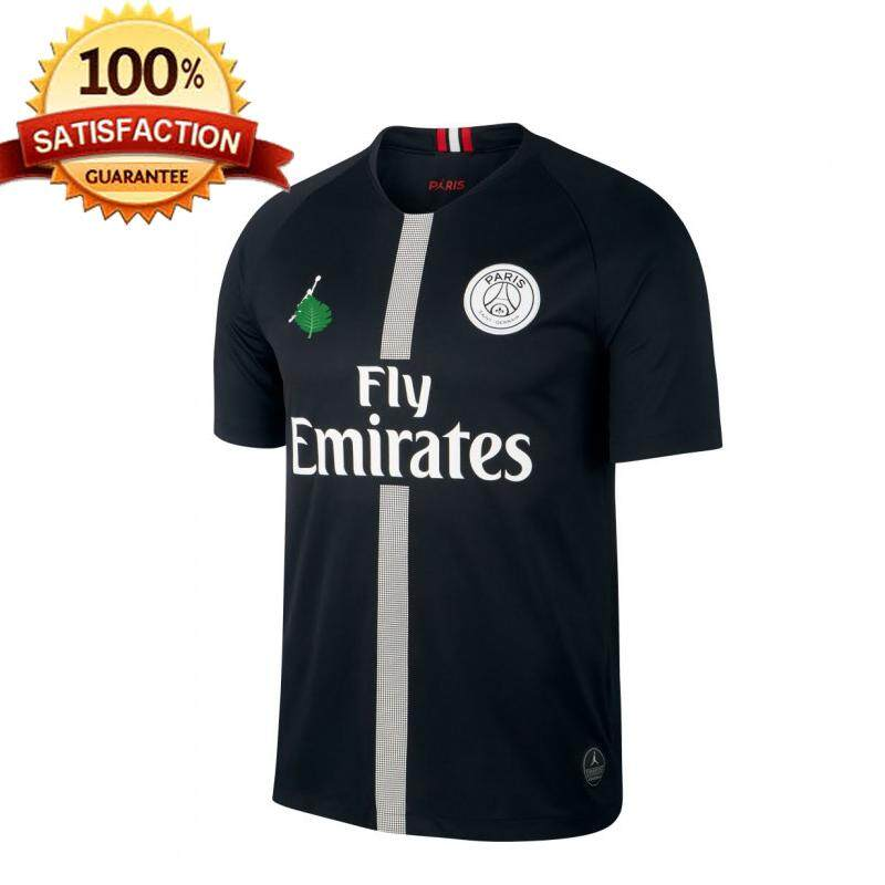 sports shoes 27f89 cff20 PSG Champions League Home Jersey Black
