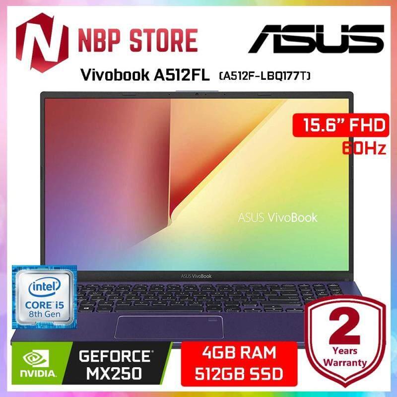 Asus Vivobook A512F-LBQ177T 15.6  FHD Laptop Peacock Blue ( i5-8265U, 4GB, 512GB, MX250 2GB, W10 ) Malaysia
