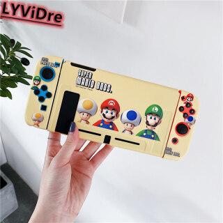 Vỏ Bọc Hoạt Hình LYViDre Nitendo Switch NS, Ốp Lưng Bảo Vệ TPU Mềm Dễ Thương Super Mario Cho Nintendo Switch NS Cover Có Thể Tháo Rời Xử Lý thumbnail