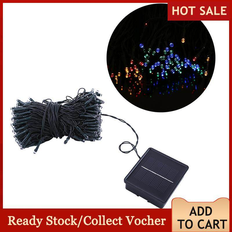 200 Led Outdoor Waterproof Solar Power String Light Home Garden Tree Decorative Fairy Lamp (colorful) By Sweetbaby123.