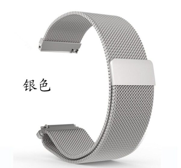 magnetic closure stainless steel strap wristband for Huawei B6 B5 B3 B2 Talkband smart watch band 15mm 16mm 18mm Malaysia
