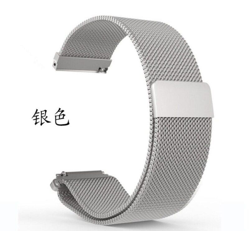 magnetic closure stainless steel strap wristband for Huawei B6 B5 B3 B2 Talkband smart watch band 15mm 16mm 18mm Malaysia