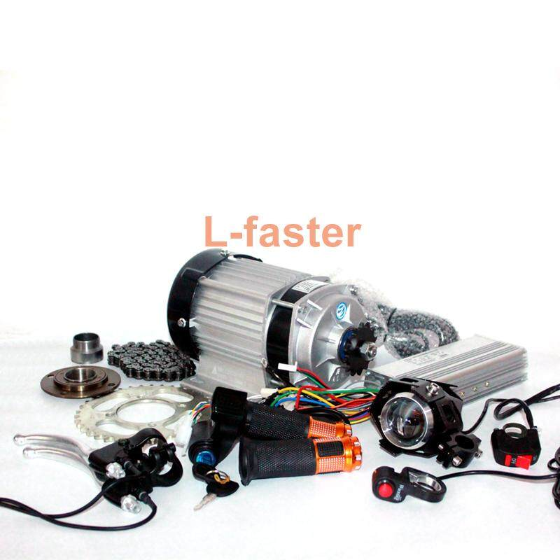 48V 500W 750W Electric Brushless Gear Motor Electric Tricycle Engine