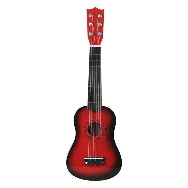 Đàn Ghi Ta Mini 21 Inch 6 Dây, Basswood Guitar, Với Pick Strings Nhạc Cụ Đồ Chơi Cho Trẻ Em Quà Tặng Trẻ Em