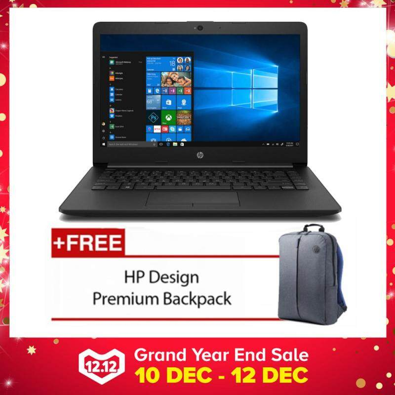 HP 14-ck0096TU 14 Laptop Black ( Celeron N4000, 4GB, 500GB, Intel, W10 ) Malaysia