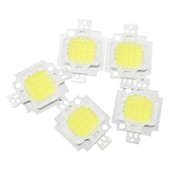 Bảng giá 5 pcs 10W High Power White LED Light Lamp
