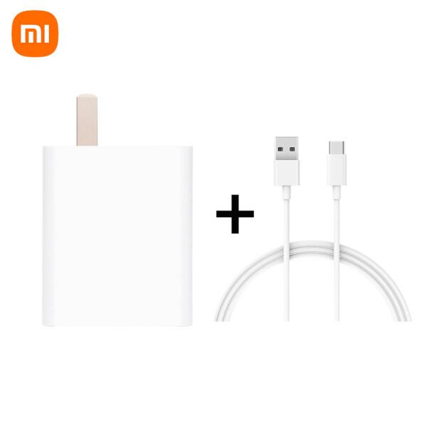 Bộ Sạc Điện Thoại Xiaomi 33W Và Bộ Cáp Sạc 3A Type-C Bộ Chuyển Đổi Nguồn Sạc Tường USB Đơn Nhanh, MDY-11-EX Máy Tính Bảng Tương Thích Với iPhone Samsung Galaxy Huawei Xiaomi Google Nexus Android