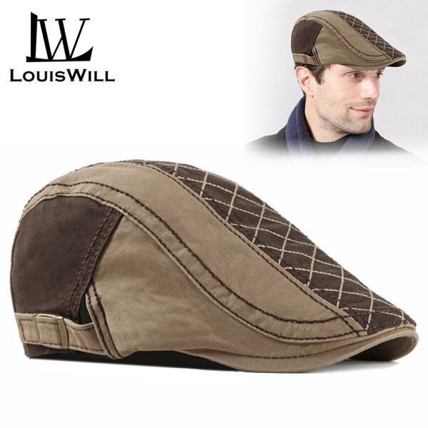 Nón beret LouisWill chất cotton dày dặn có thể điều chỉnh