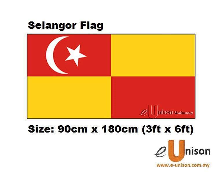 Selangor Flag 3ft x 6ft