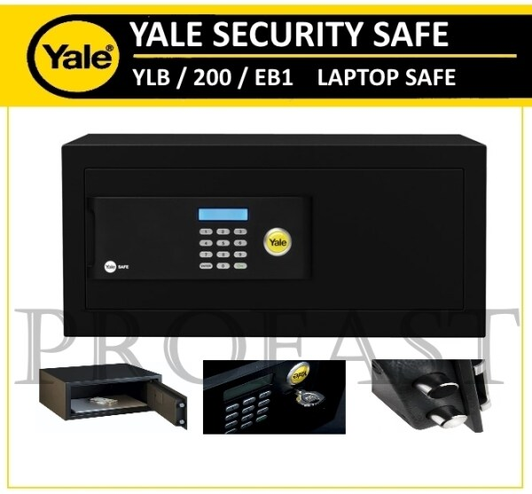 Yale Original Home Electronic Digital Security Safe Safety Box LAPTOP compact SAFEBOX YSB YLB/200/EB1