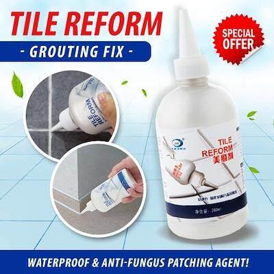 Tile reform grouting fix waterproof anti-fungus floor tiles patching agent (Branded LKB)