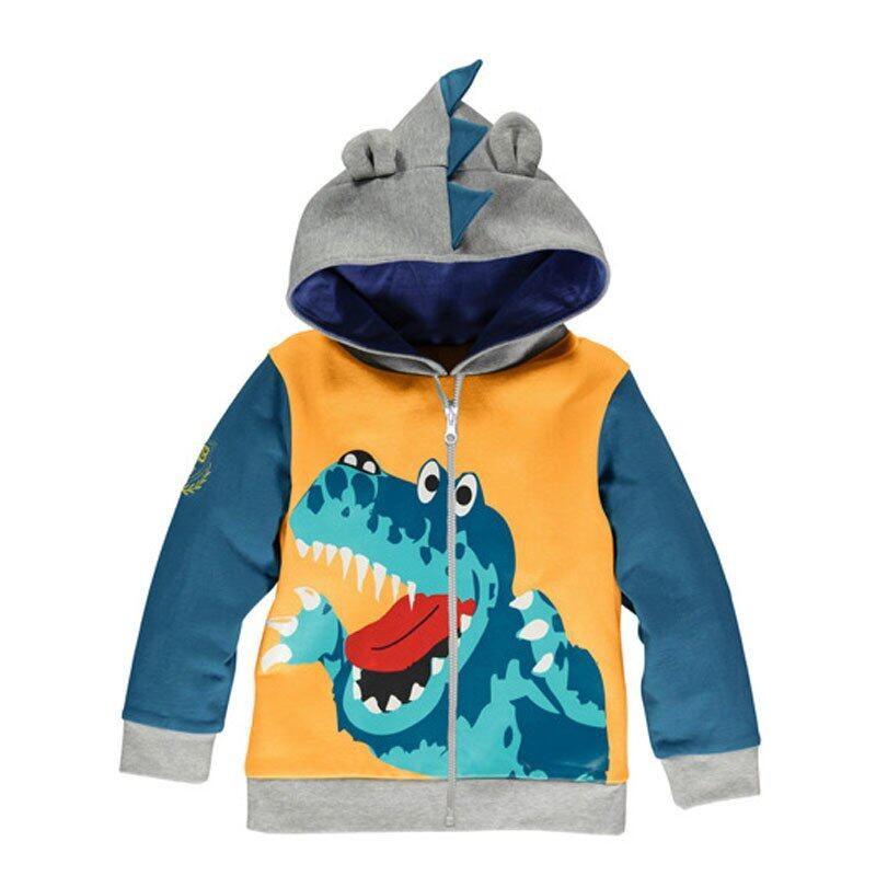 e46dfa6e0f2 Baby Boys Jacket Kids Child Coat Hoodie Spring Autumn Clothes Outerwear  Long Sleeve   D