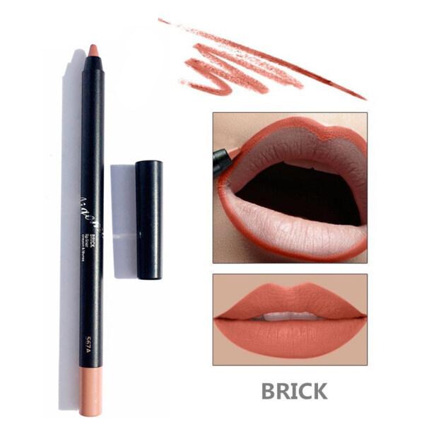 AIGOMC Trang Điểm Mới Son Dạng Bút Không Thấm Nước Lâu Trôi Lip Liner Velvet Lipstick Mỹ Phẩm giá rẻ