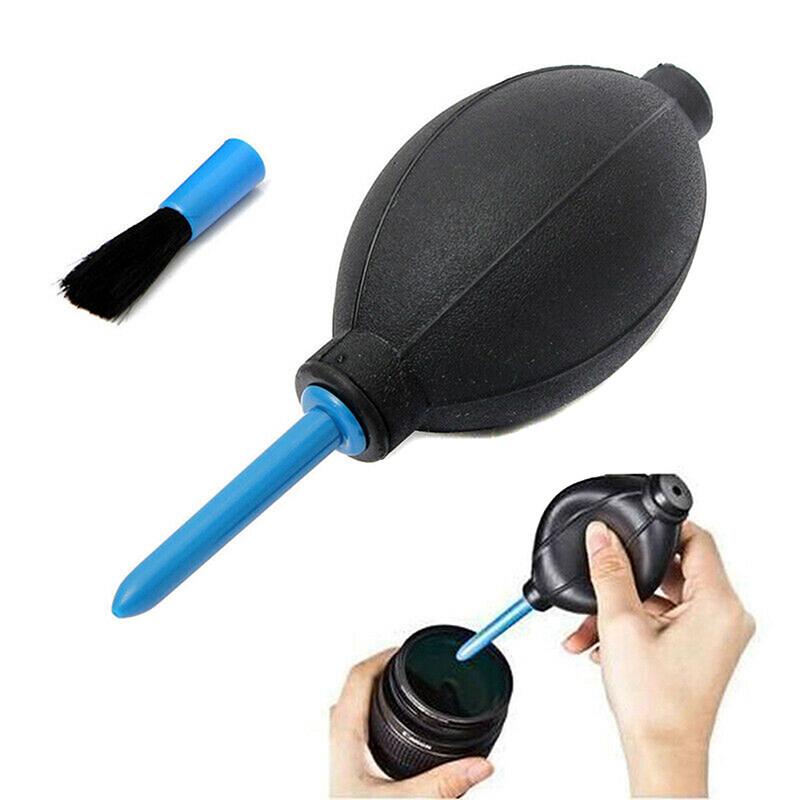 Remai ยางมือปั๊มลมฝุ่นเครื่องมือทำความสะอาด + แปรงสำหรับเลนส์กล้องดิจิตอล.