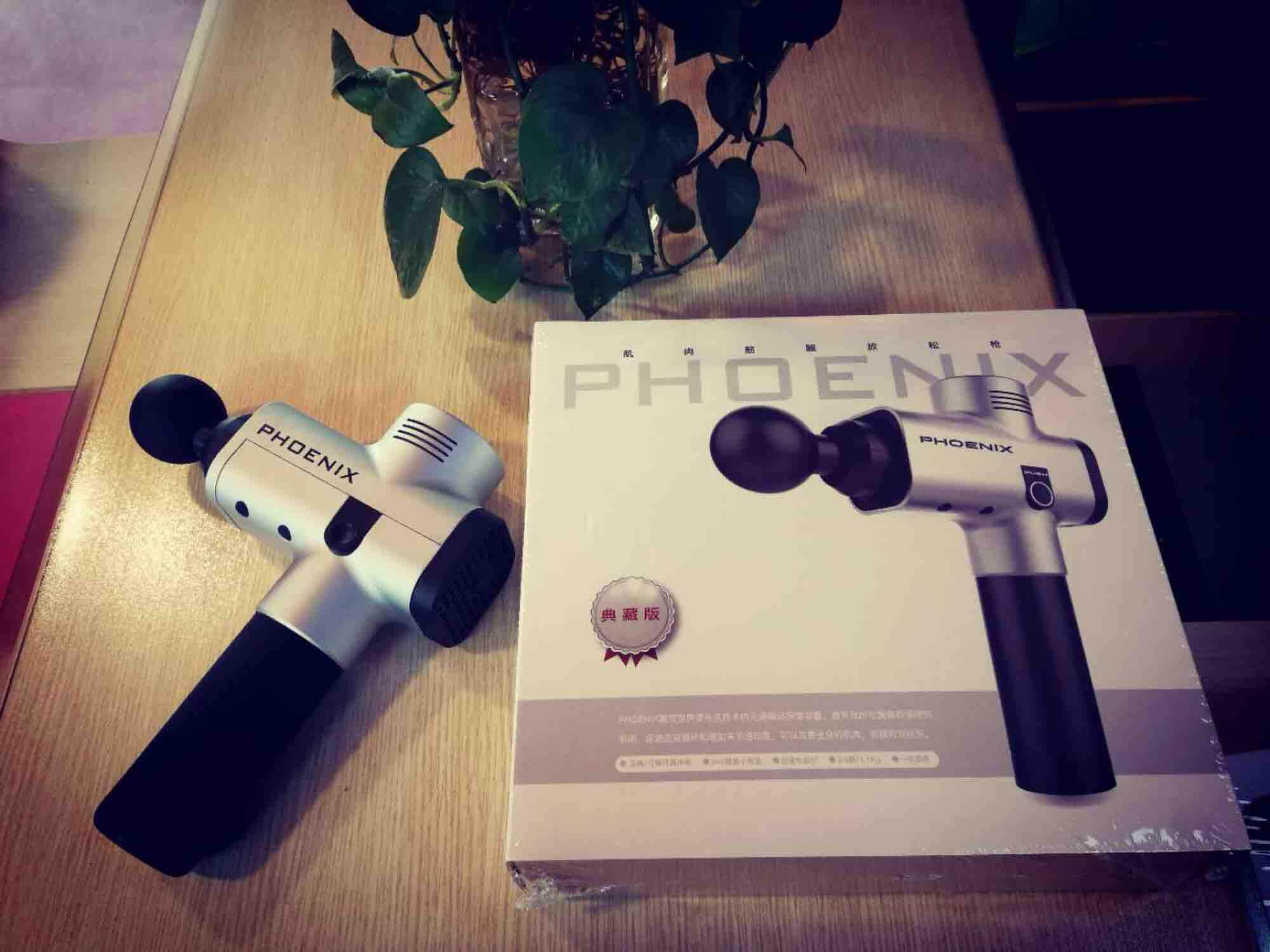 【Original】Phoenix A2 Professional Massage Theragun with 4 Massage Heads  Deep Relax Therapy Body Massage Relief Pains