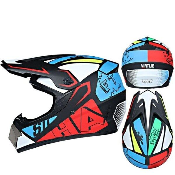 Mua Mũ Bảo Hiểm Chữ Thập Kask Capacete Cho Xe Máy, Motocross Trẻ Em, Kaski Motocyklowe Casco Moto Hombre Motorradhelm Motocicleta