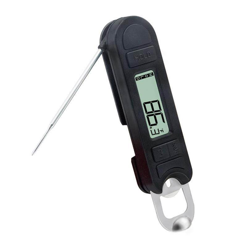 Folding Digital Food Thermometer Instant Read Probe For Milk Barbecue Bbq Meat Waterproof Kitchen Cooking Thermometer