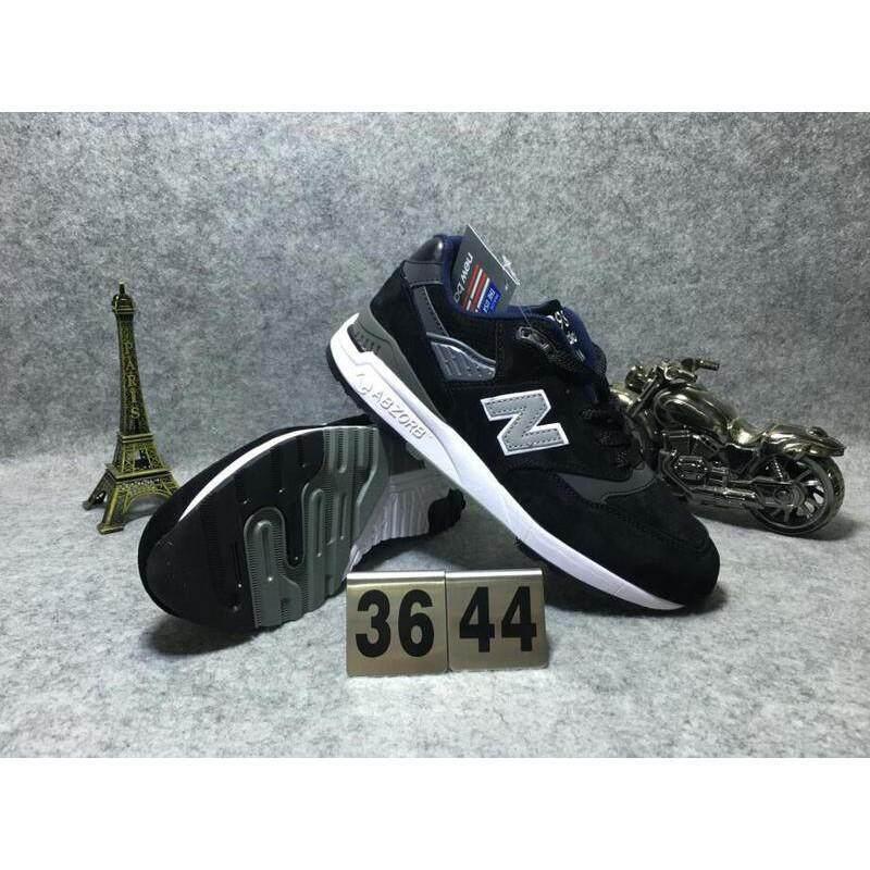 กาญจนบุรี TH   New Balance USA การผลิต 998 ผู้ชายผู้หญิงกีฬารองเท้ารองเท้าผ้าใบใส่วิ่ง