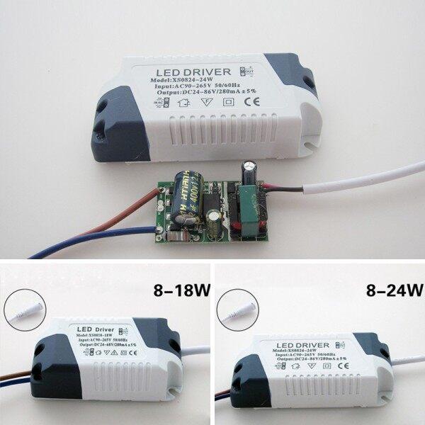 Bảng giá Miễn Phí Vận Chuyển, Biến Áp Điều Khiển LED Không Cách Ly 18W/24W Bộ Chuyển Đổi Nguồn Điện Đèn LED Trần Tài Xế Lắp Đặt Dễ Dàng
