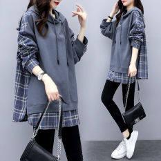 Mùa Thu Và Mùa Đông Phiên Bản Hàn Quốc Của Phụ Nữ Khâu Giản Dị Áo Khoác Jacket Thời Trang Trùm Đầu