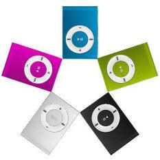 Cửa Hàng Tophome Máy Nghe Nhạc MP3 Mini 3.5Mm USB2.0 Có Clip Hỗ Trợ Thẻ Micro SD TF Đơn Giản Không Có Màn Hình Hiển Thị