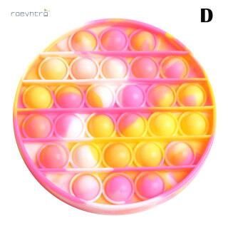 Đồ chơi đẩy bong bóng màu nhuộm giảm căng thẳng cho trẻ em và người lớn, chất liệu silicon không độc hại RAE (Sản phẩm có nhiều phiên bản lựa chọn, vui lòng chọn đúng sản phẩm cần mua) - INTL thumbnail