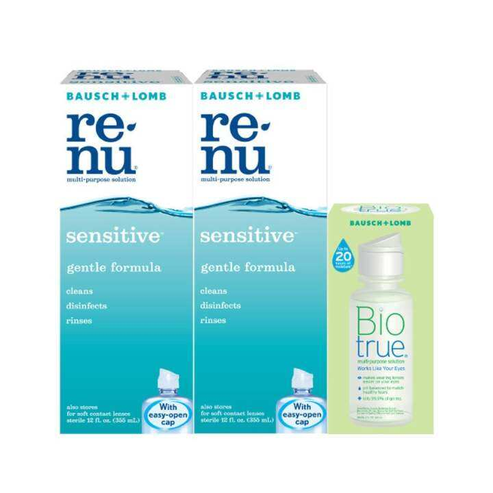 BAUSCH & LOMB Renu Sensitive Multi Purpose Solution 2X355ML
