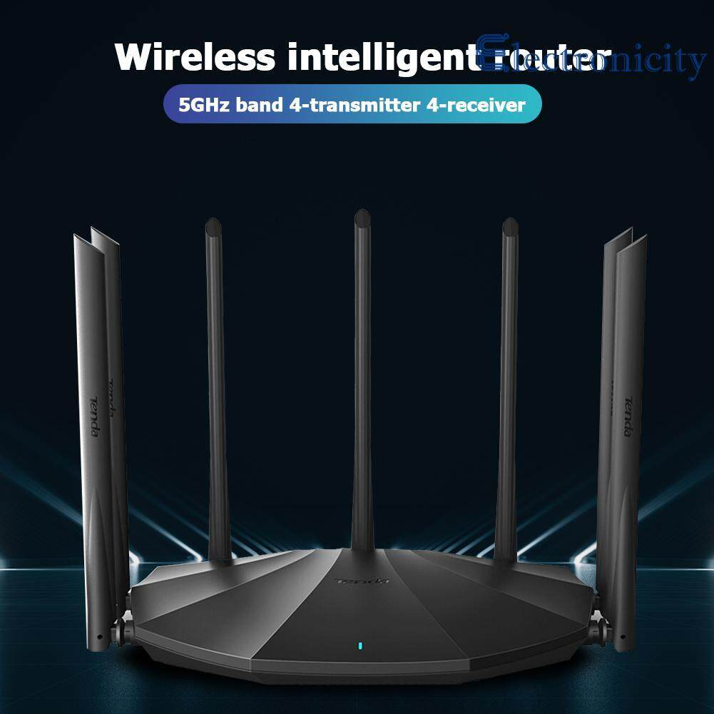 Classic Portable Gigabit Dual-Band AC1200M Wireless Router Repeater High Gain Antennas