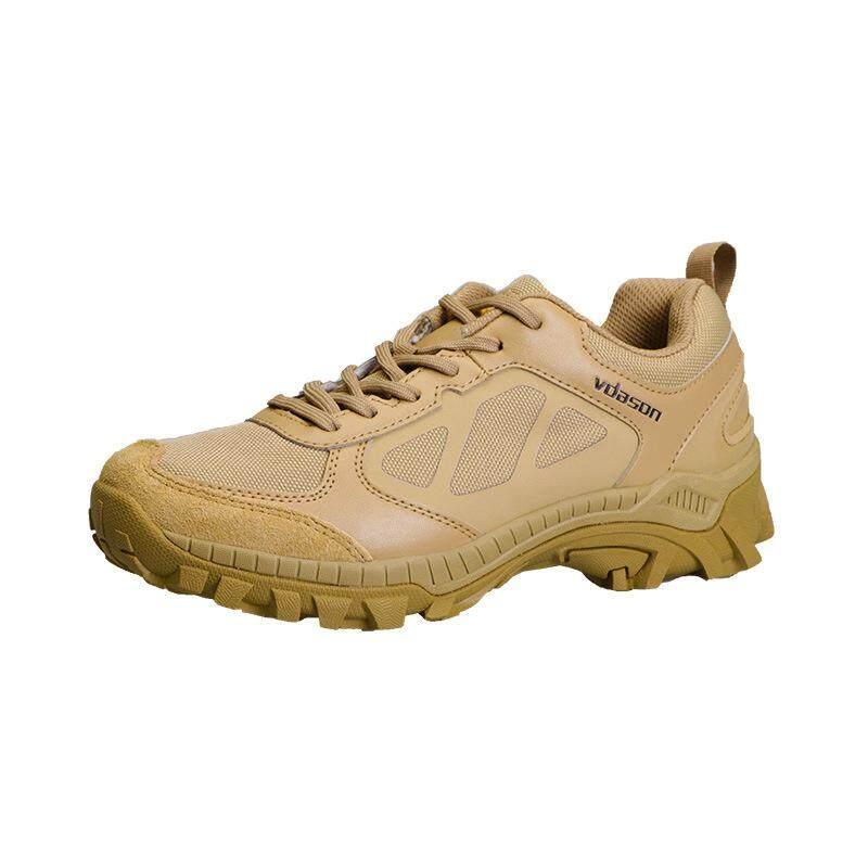 Low - Top รองเท้าคอมแบตรองเท้าบูททะเลทรายรองเท้าบูตลุยป่าชาย Breathable Forces Ultra - Light Shock รองเท้ายุทธวิธีรองเท้าทหาร By Waterlily.