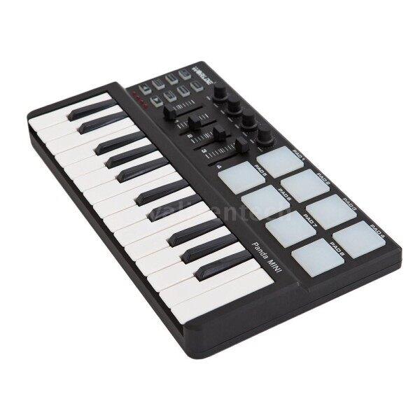Worlde Panda mini Portable Mini 25-Key USB Keyboard and Drum Pad MIDI Controller Malaysia
