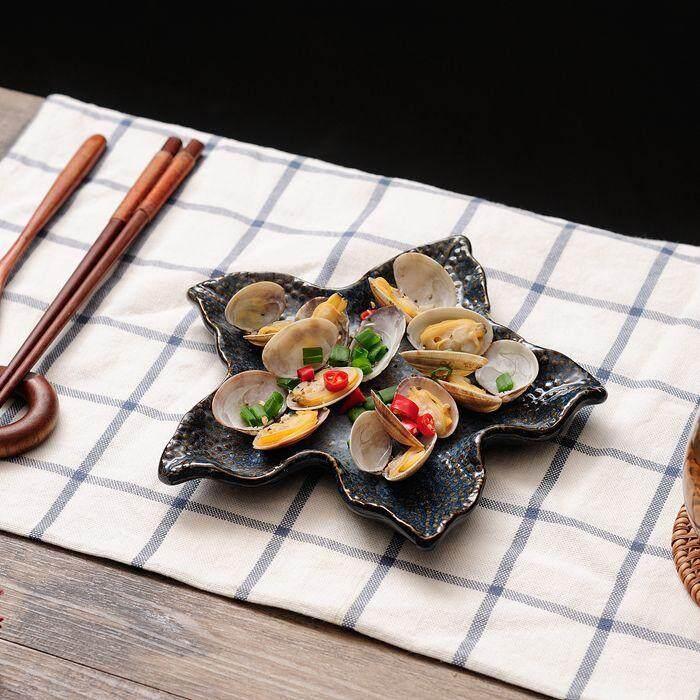 เซรามิค Marine บุคลิกภาพบนโต๊ะอาหาร Home โรงแรมจานอาหารปลาดาวสเก็ตบอร์ดฟิชเพลต By Byron.