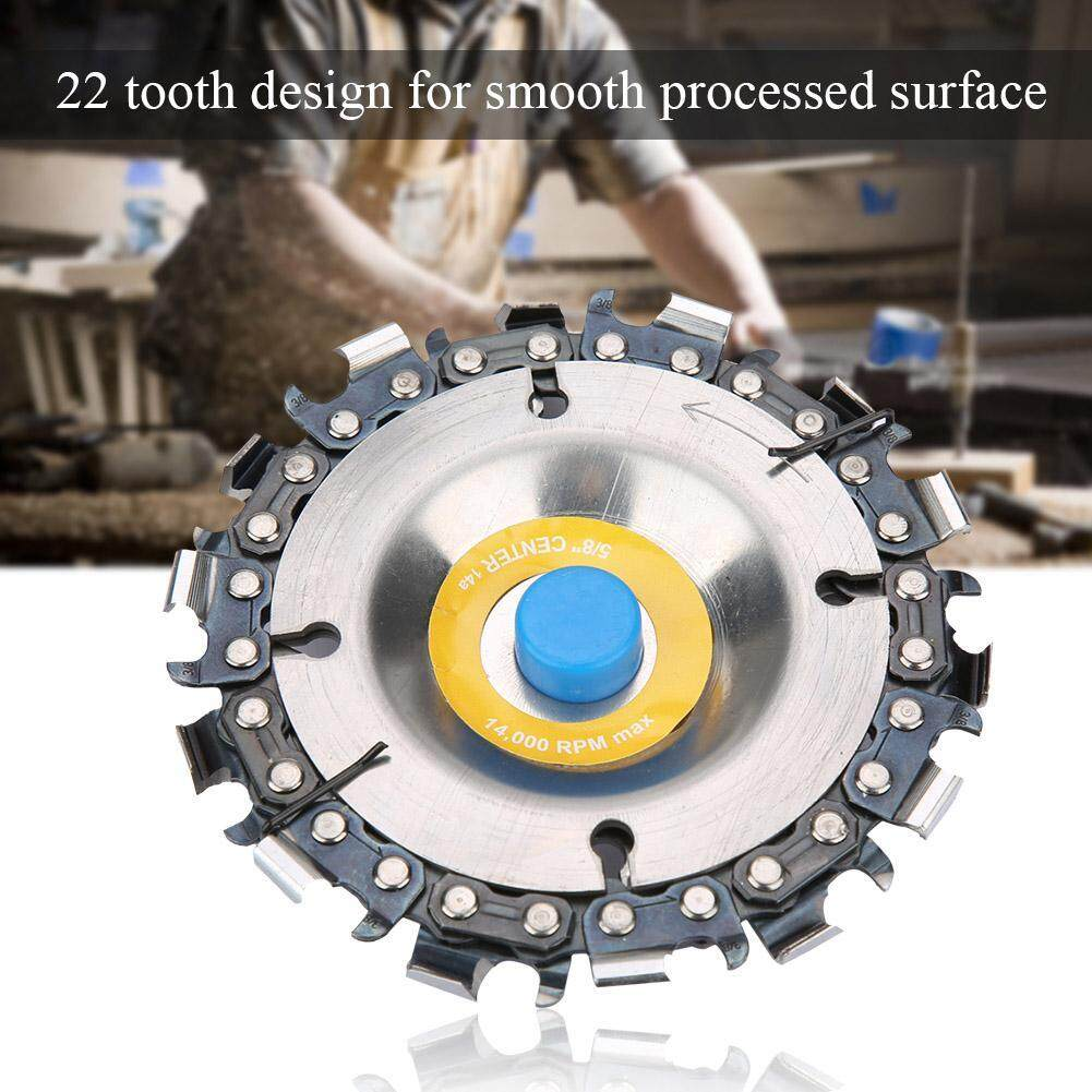 4 14 Tooth Chain Disc Woodworking Chain Wheel for 100/115mm Angle Grinder
