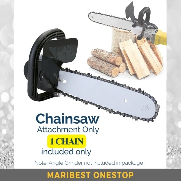 CHAINSAW ATTACHMENT (ANGLE GRINDER NOT INCLUDE)-1C